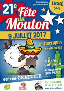 Affiche Fête du Mouton 2017