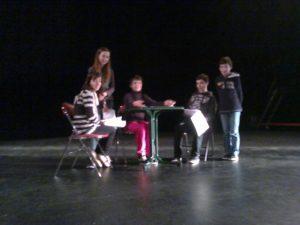 Ecole de théâtre Les Loustics 2014