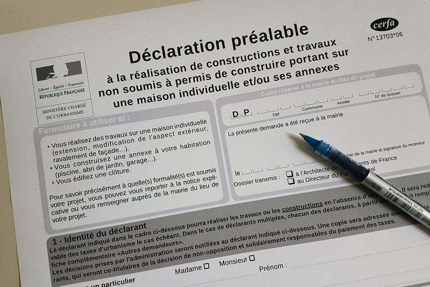 Declaration Prealable De Travaux