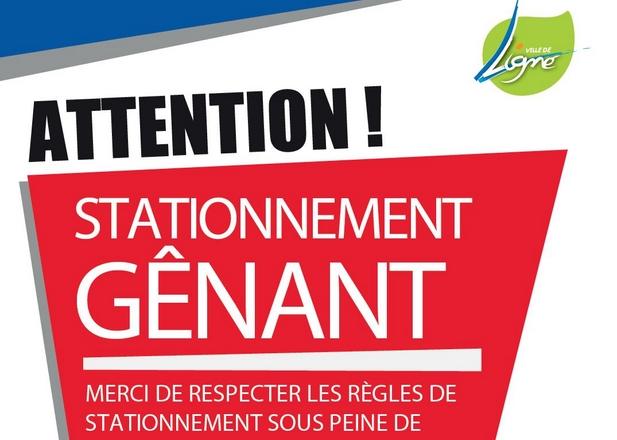 Stationnement Genant